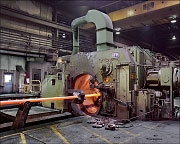 LATROBE SPECIALTY STEEL, automatic forging machine, langschmiedemaschine