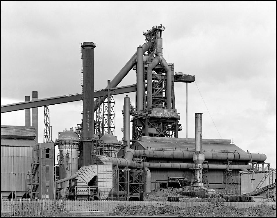 british steel , blast furnace