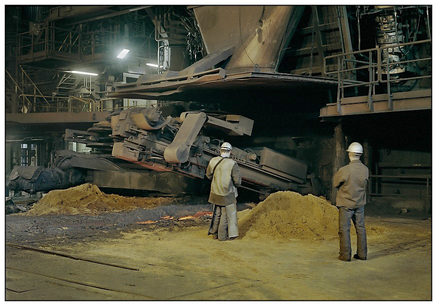 ARCELOR SIDMAR, GHENT, Stichlochbohrmaschine, Tapping Hole Drill..